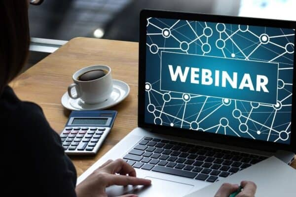 security training - live webinars